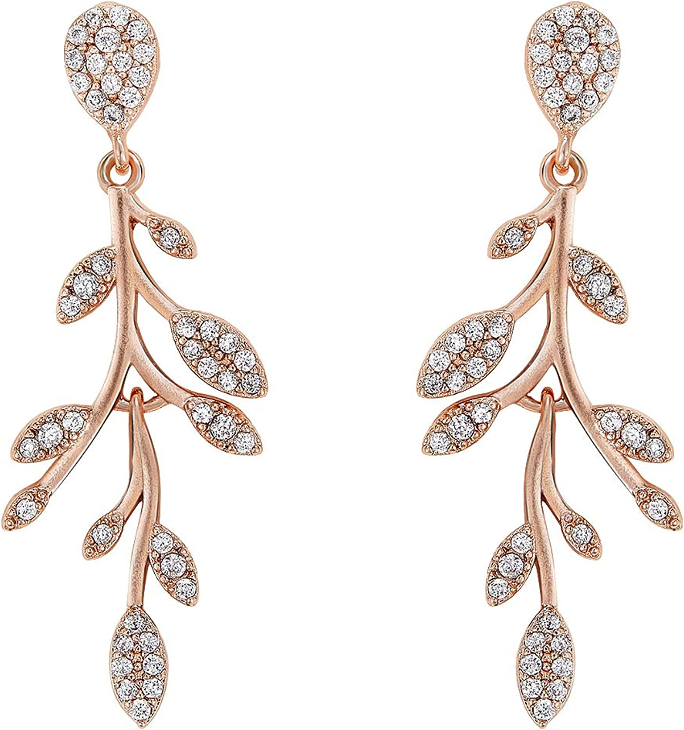FREE SHIPPING Jewelry Earrings Leaves earrings Silver color leaves Gifts for wife Gifts Gifts for her Beautiful Chandelier leaves New
