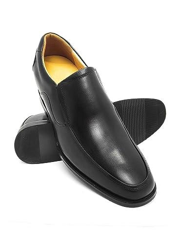 Herren Schuhe mit undsichtbarer erhöhundg 7 cm Schuh Aus Hochwertigem Leder Versteckter anhebender Ferse Farbe Leder Grösse: 42 Zerimar Neue Stile Günstig Online o0keOg2xCJ