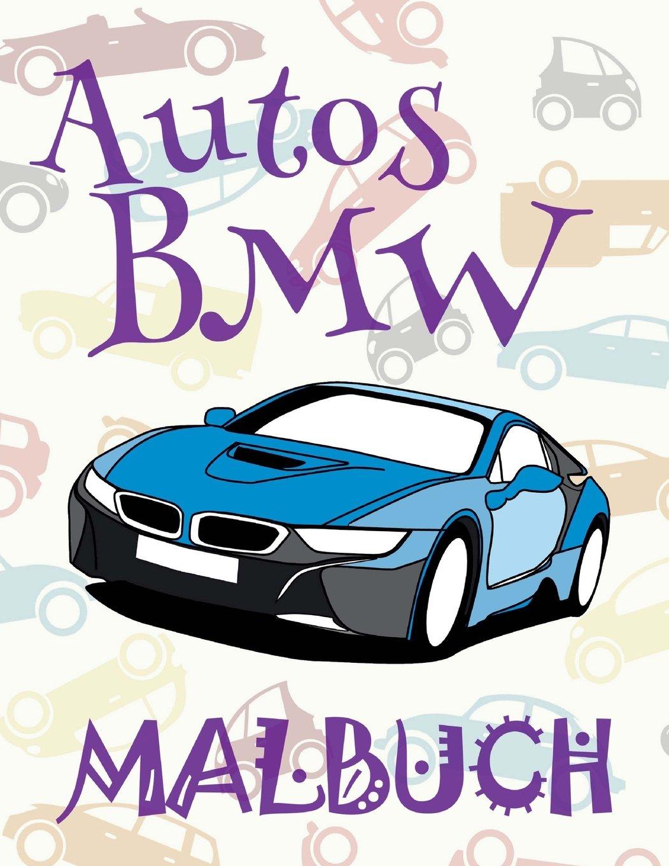 Autos Bmw Malbuch Auto Malbuch Jungen Malbuch Xl