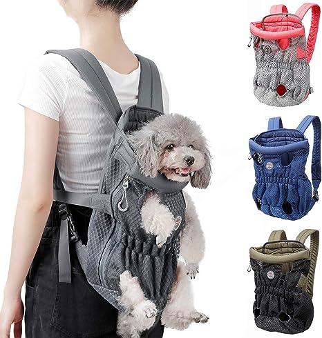 Wins Hunderucksack Rucksack Für Hunde Katzen Hundetragetasche Atmungsaktiver Wandern Hunderucksack Für Kleine Große Hunde Bis 4 Kg Haustier