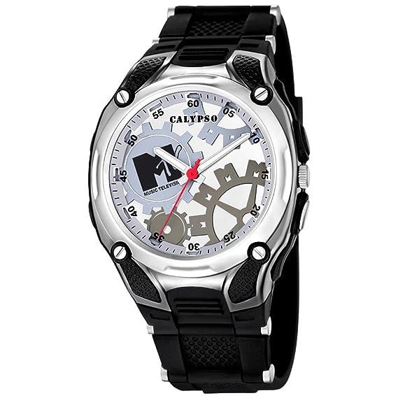 Calypso KTV5560 - 1 - Reloj de Pulsera de Hombre Color Negro: Calypso: Amazon.es: Relojes
