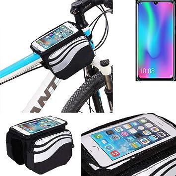 K-S-Trade® Bolso Bolsa Funda Bicicleta para Huawei Honor 10 Lite ...