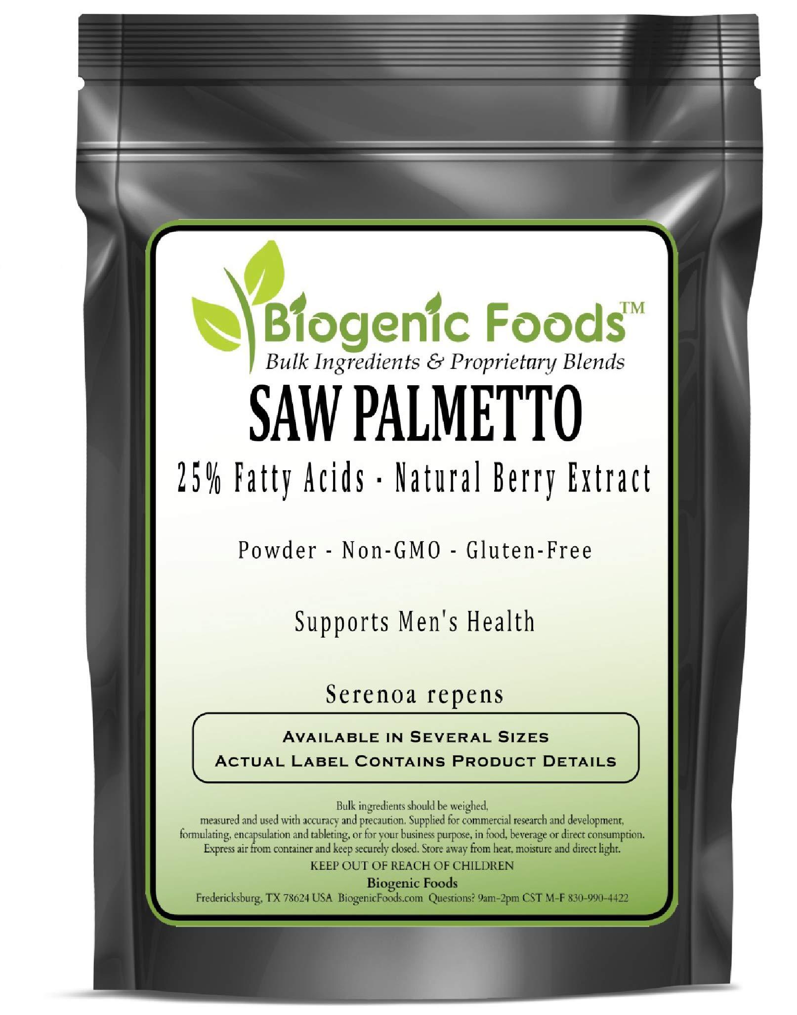 Saw Palmetto - 25% Fatty Acids - Natural Berry Powder Extract (Serenoa repens), 5 kg