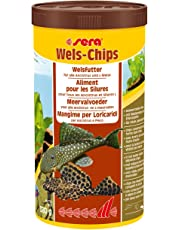 sera 00508 Wels-Chips 1000 ml - Die Chips für raspelnde Welse (z.B. Ancistrus und L-Welse)