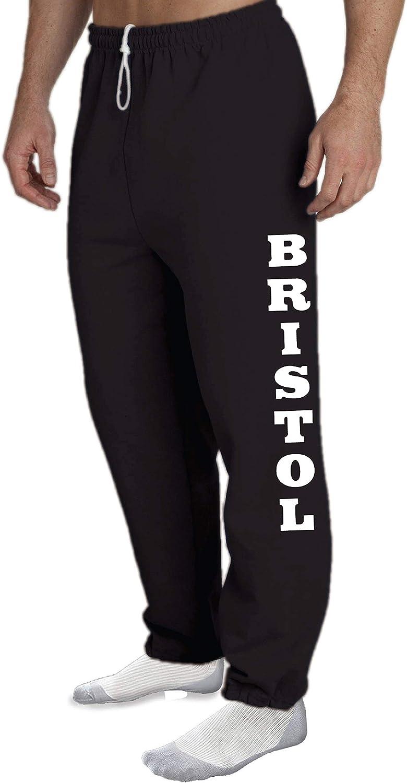 STUFF WITH ATTITUDE Bristol Open Bottom Black Sweat Pants