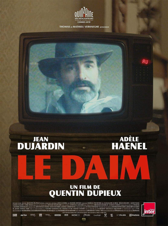 Le Daim Affiche Cinéma Originale (Format 53 x 40 cm Pliée) Quentin Dupieux  Jean Dujardin Adèle Haenel 2019: Amazon.fr: Cuisine & Maison