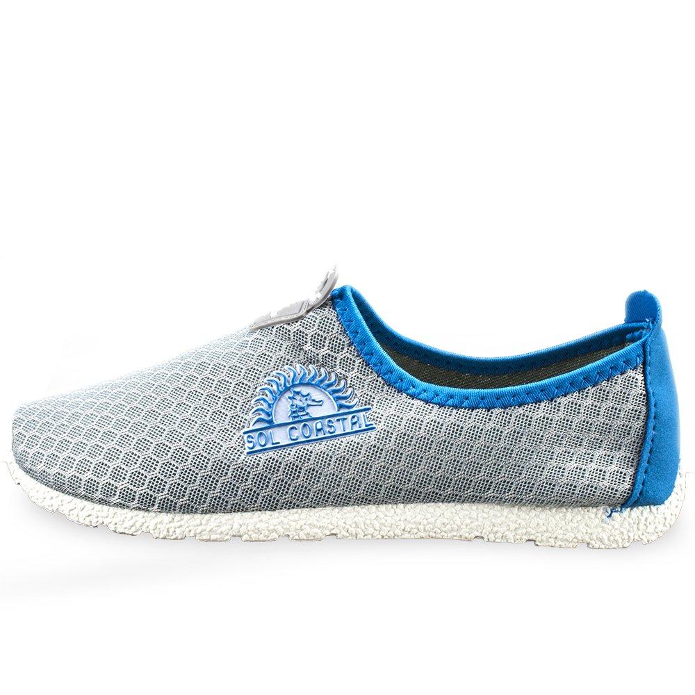 SOL Coastal Shore Runner Damen Wasser Schuhe (Dolphin grau grau grau Größe 7) d5fb44