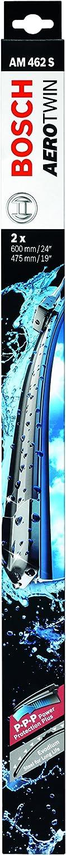 Bosch Aerotwin 462 - Limpiaparabrisas (2 unidades, 600 mm y 475 mm)