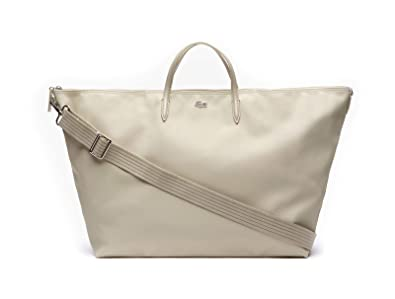 f16698fc38 Lacoste L.12.12 Concept Travel Shopping Bag Feather Gray: Amazon.fr ...