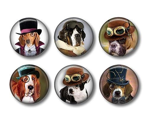 Beagle Dog Breed Kitchen Refrigerator Locker Button Magnet