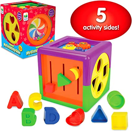 Toddler Learning Cube