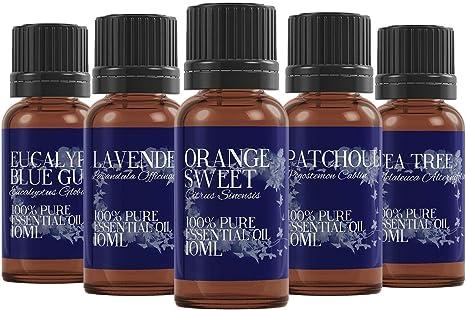 Mystic Moments - Pack de iniciación de Aceite Esencial – Favoritos – 5 x 10 ml – 100% Puro: Amazon.es: Hogar