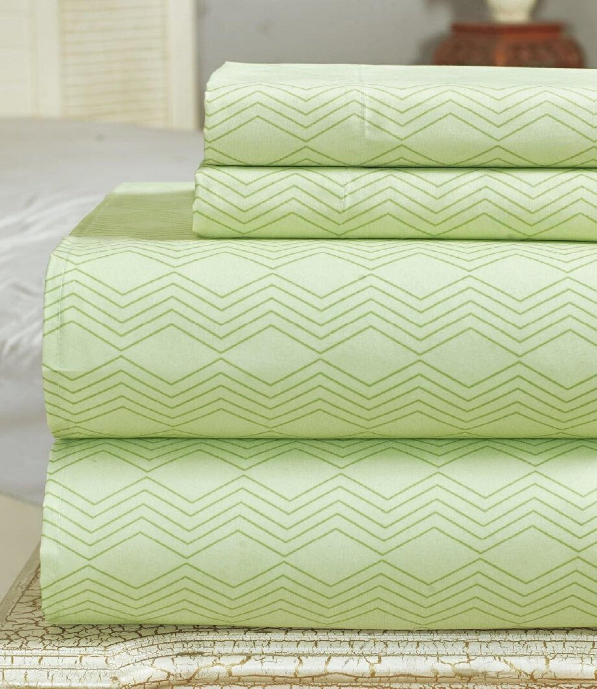 Bamboo Comfort Plus 2400 Series Sheet set (Olive, Double)