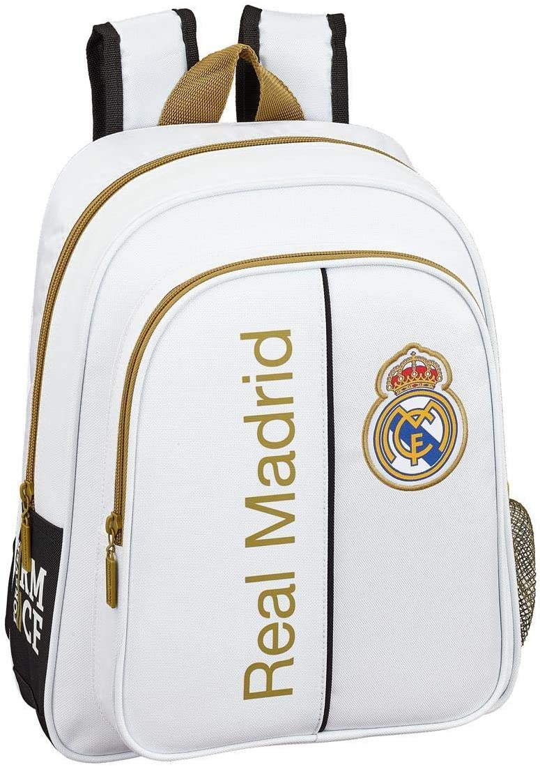 Real Madrid 2018 Sac /à Dos Enfants Blanc 43 cm Blanco
