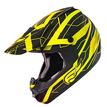 Fulmer, x3003t24, adulto X30 Tracker casco MX ATV Dirt Bike Off road Dot/
