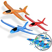 Ulikey 3 Pcs Planos de Espuma, Avión Planeador