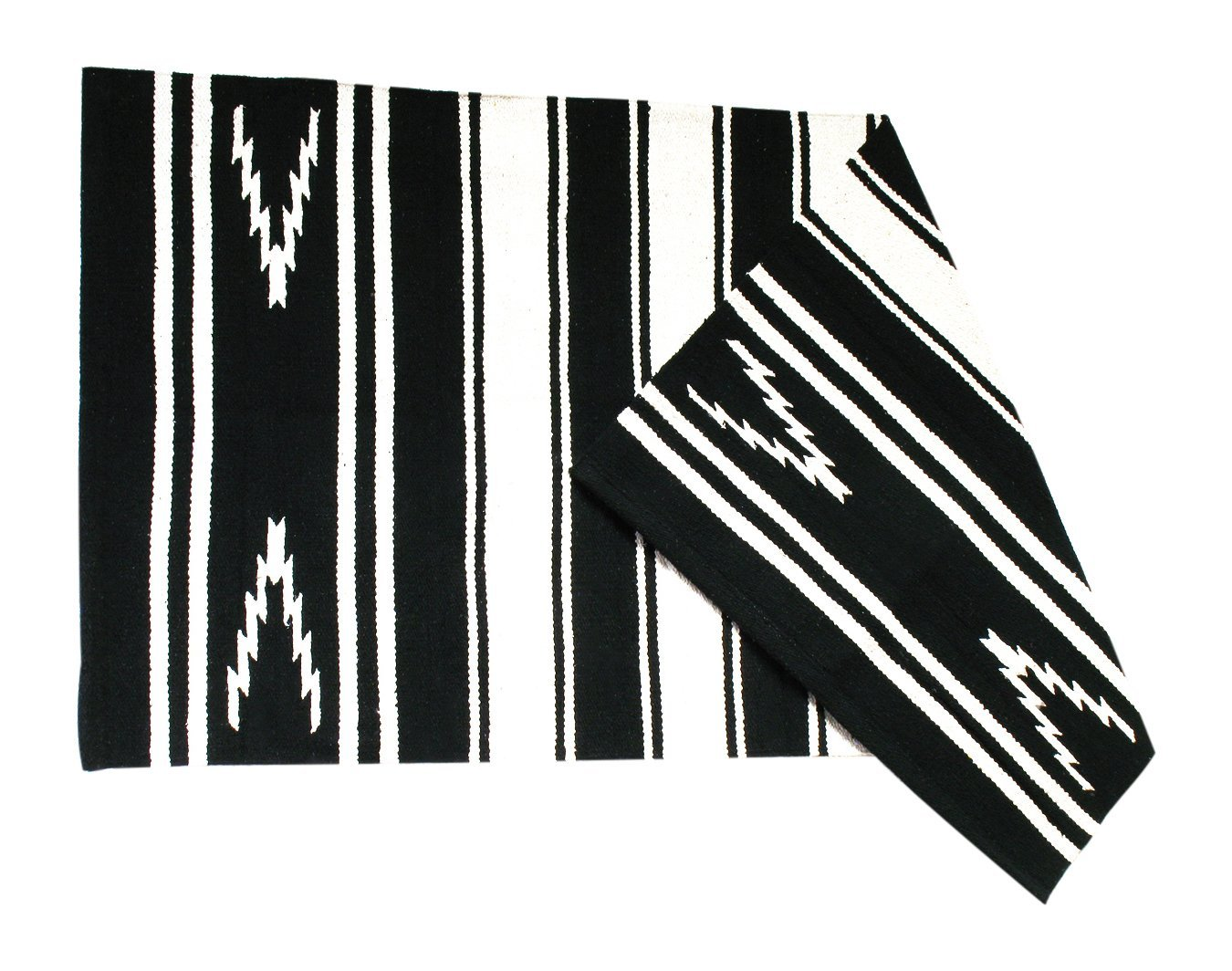 JF Equestrian Saddle Navajo Blanket Delg Ado – Black, One Size, 270041 0006 VMWE5|#VM Western Sports 270041-0006