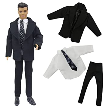 Amazon.es: ZITA ELEMENT Ken Barbie Ropa de Muñeca Formal ...