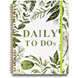 """Daily Planner Undated: 5.7""""x8.5"""" Daily To Do List Planner Notebook, Daily Journal with Inner Pocket, Meals Planner, Office Or"""
