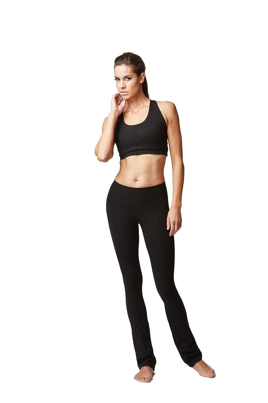 Lightweight Slimming Shaping Compression Yoga Trousers Pants Black Reg-XL