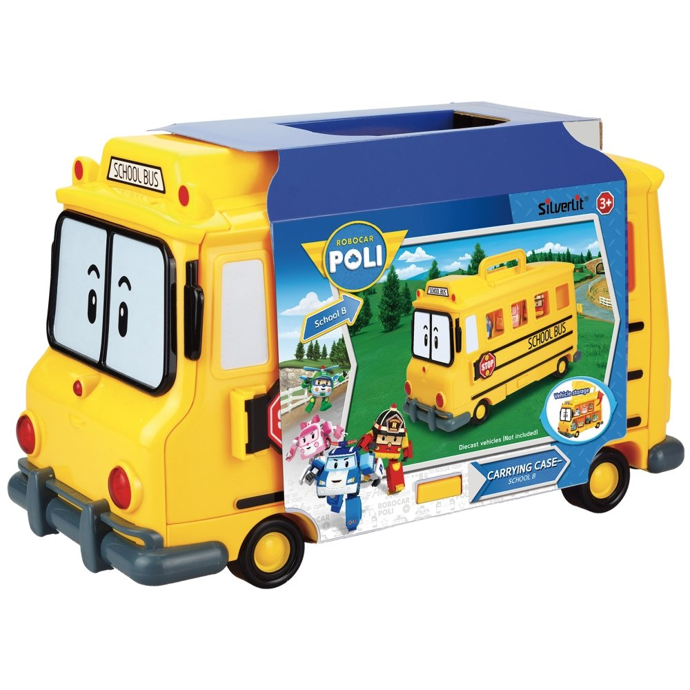 Rocco Jouets 83148Robocar PoliBus scolaire Rocco Giocattoli