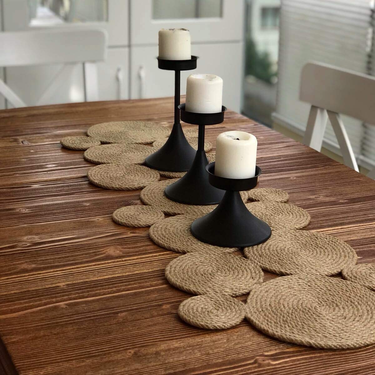 Asimetry Rope Table Runner//Tablecloth