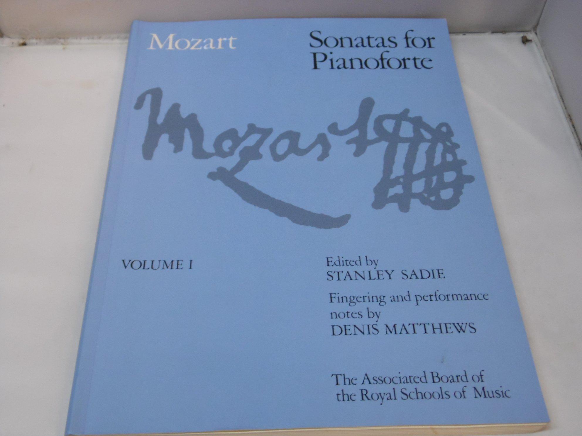 MOZART SONATAS Vol 1 P//B Sadie//Matthews Piano*