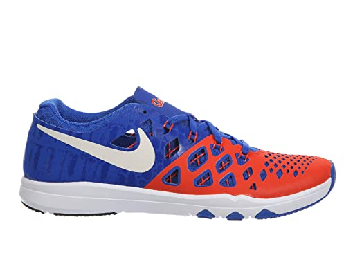 Nike Mens Train Speed 4 University Orange/White/Black SyntheticCross-Trainers Shoes