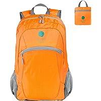 EEZEE 28L Ultralight Waterproof Foldable Backpack (Orange/Red)