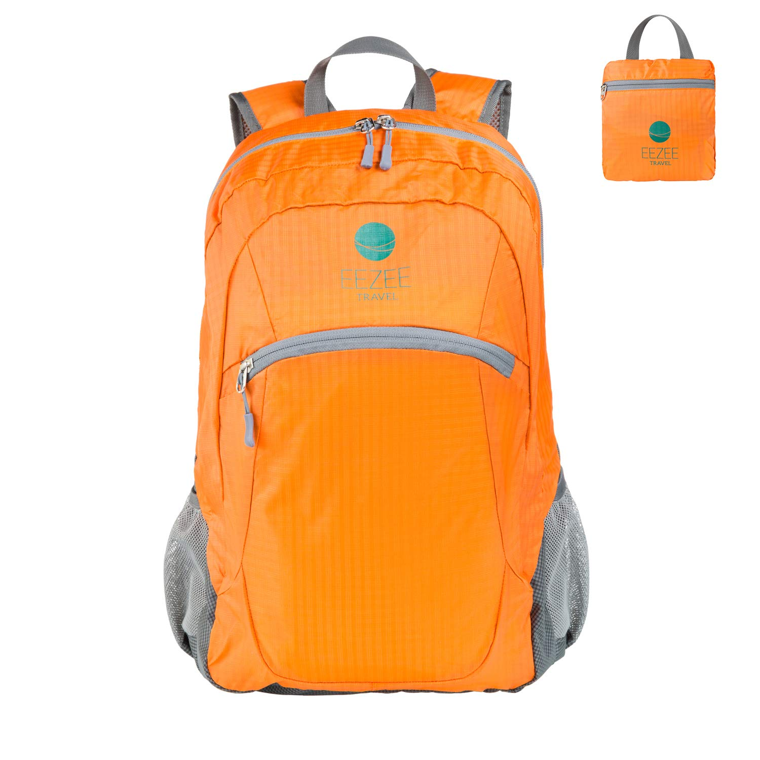 EEZEE ARCHES 28L Ultralight Foldable Backpack Waterproof Anti-Tear Handy Daypack (Orange)