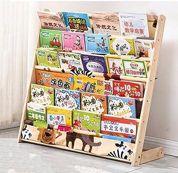 Bücherregal kinder  Cdbl Wand Bücherregal Kinder Bücherregal Cartoon Holzboden ...