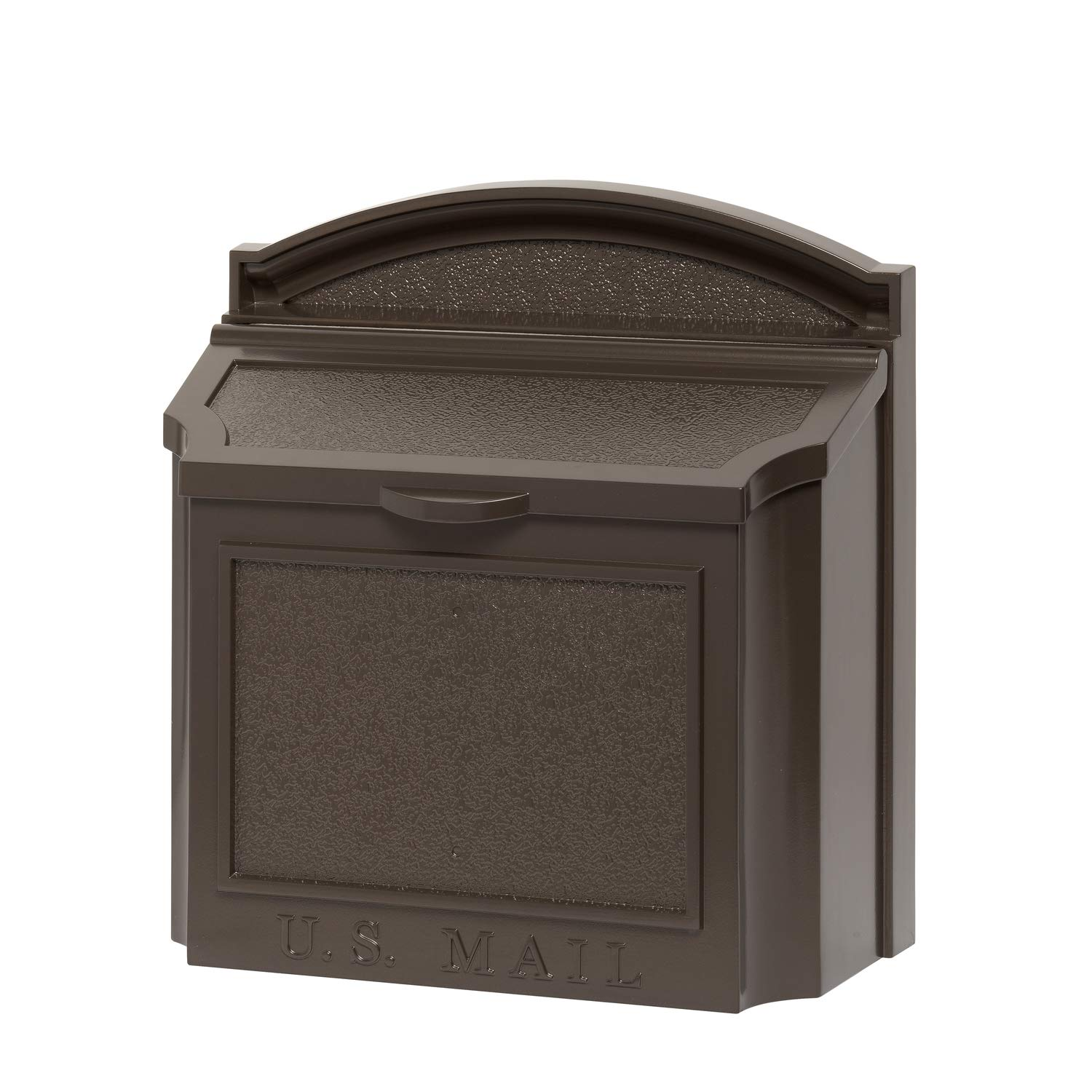 Whitehall Products 16138 Wall Mailbox, French Bronze