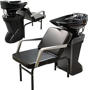 Ceramic Adjustable Shampoo Bowl Backwash Station with Triple-Certified Vacuum Breaker