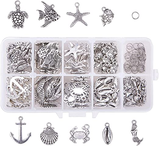 Mushroom Charm//Pendant Tibetan Antique Silver 23mm  10 Charms Accessory Crafts