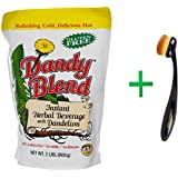 Dandy Blend, Instant Herbal Beverage with Dandelion, Caffeine Free, 2 lbs (908 g)+ Bdellium Tools, Studio Series, Face 950, Oval Multi-Purpose, 1 Brush