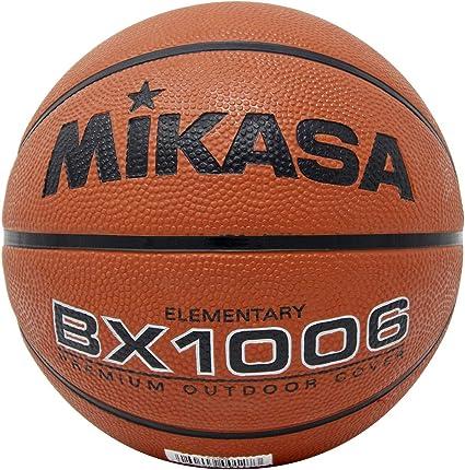Mikasa BX1000 - Balón de Baloncesto de Goma, Color Naranja, tamaño ...