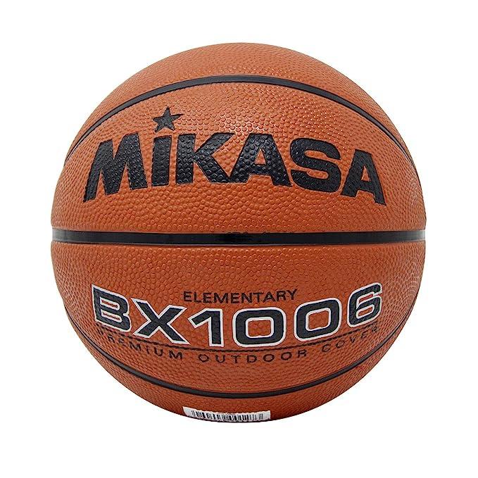 8. Mikasa BX1000 Premium Rubber Basketball