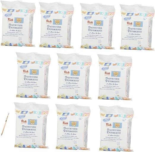 Trudi Baby 00430/Desi nfizierende Lingettes blanc Lot de 20