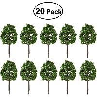 Winomo, árboles para maqueta a escala 1:100(verde oscuro)