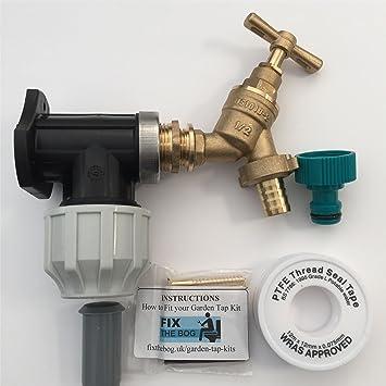 Fixthebog 25 Mm Irrigation Mdpe Kit Pour Robinet Extérieur Jardin
