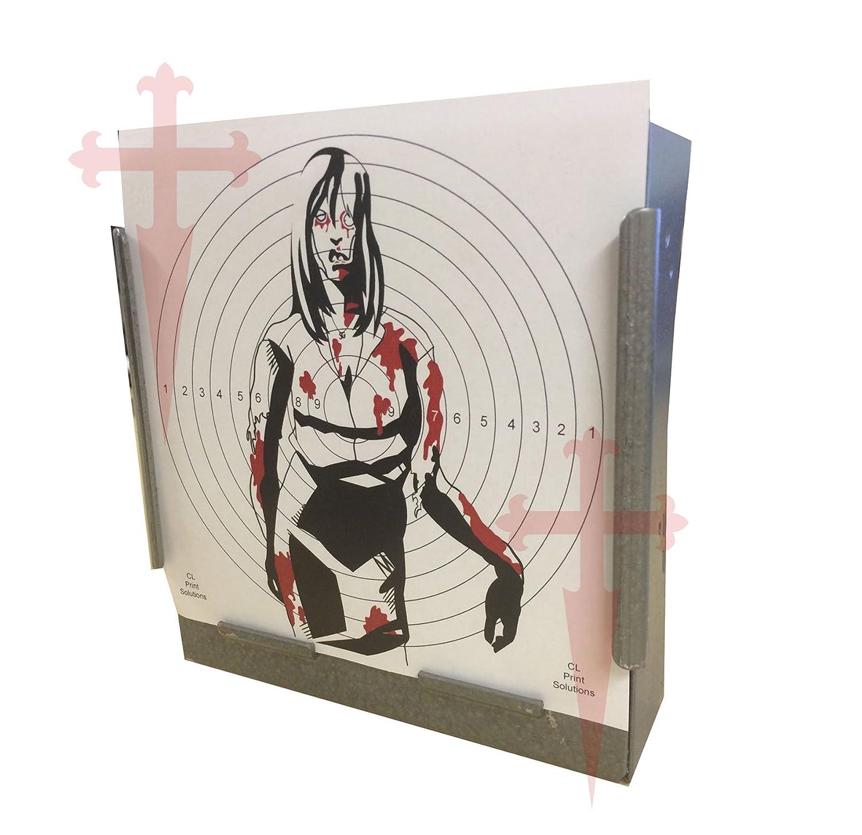 100X 17cm Couleur Papier SG Zombie Girl cibles (bricolage coloré A3100 CL Print Solutions 17cm17