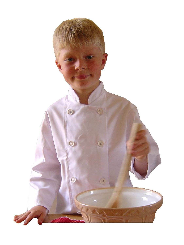 Kids Chef Jacket (Age 5 - 7 years): Amazon.co.uk: Clothing