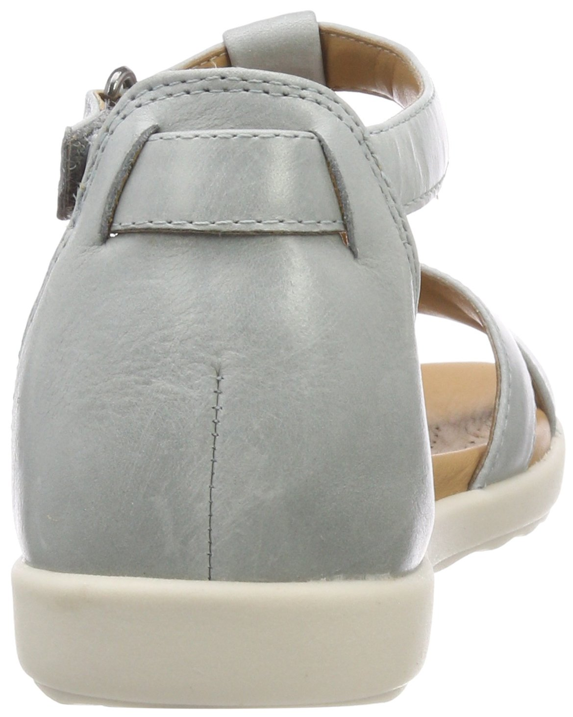 Clarks Damen Sandalen, Un Reisel Mara T-Spangen Sandalen, Damen Blau (Blau Grau) 4f567a