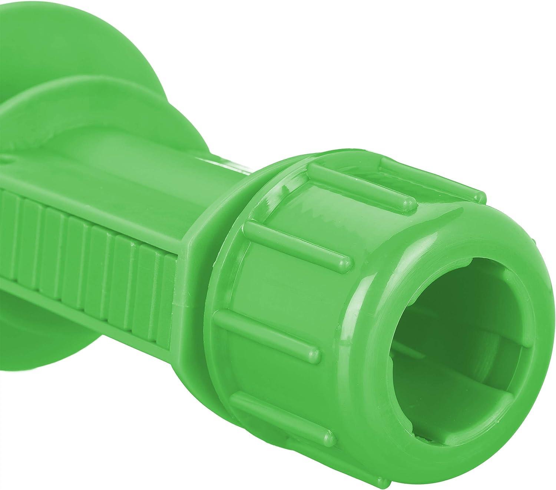 Verde 19-32 mm Spiaggia Plastica Supporto per Stendino Campeggio con Manici Relaxdays Picchetto per Ombrellone