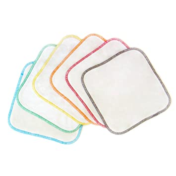 a19dd8f0910b2 Bamboo Velour Cloth Baby Wipes (6-pack) - Organic Premium Soft Reusable  Cloth
