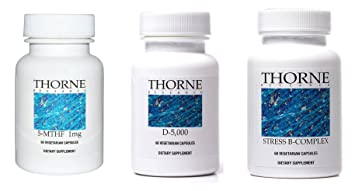 Amazon.com: Thorne investigación Suplementos Bundle (3 ...
