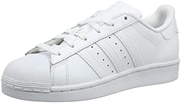 newest fb970 612df adidas Originals Superstar Foundation, Men s Trainers, White (Ftwr White Ftwr  White