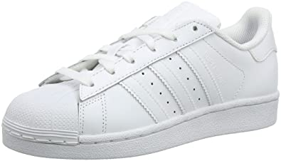 new style e3aa2 50463 Adidas Originals Superstar Foundation Scarpe da Ginnastica Unisex - Adulto,  Bianco (Ftwr White