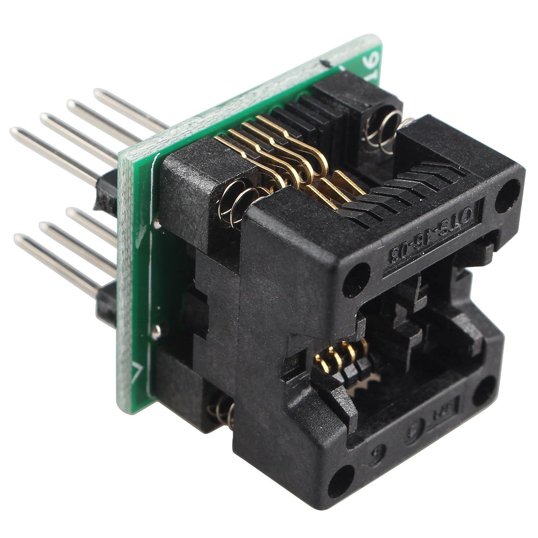 Haljia SOIC8SOP8a DIP8IC presa convertitore adattatore modulo programmatore ots-16–03per 24x x 93x x EEPROM