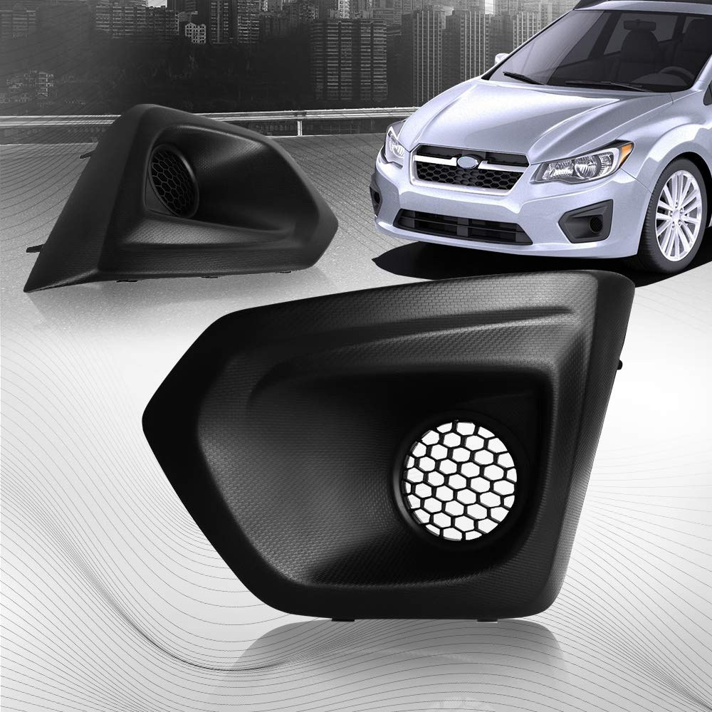 Fog Light Bezel & Cover for Subaru Impreza 2012 2013 2014 Left Passenger Side Issyzone